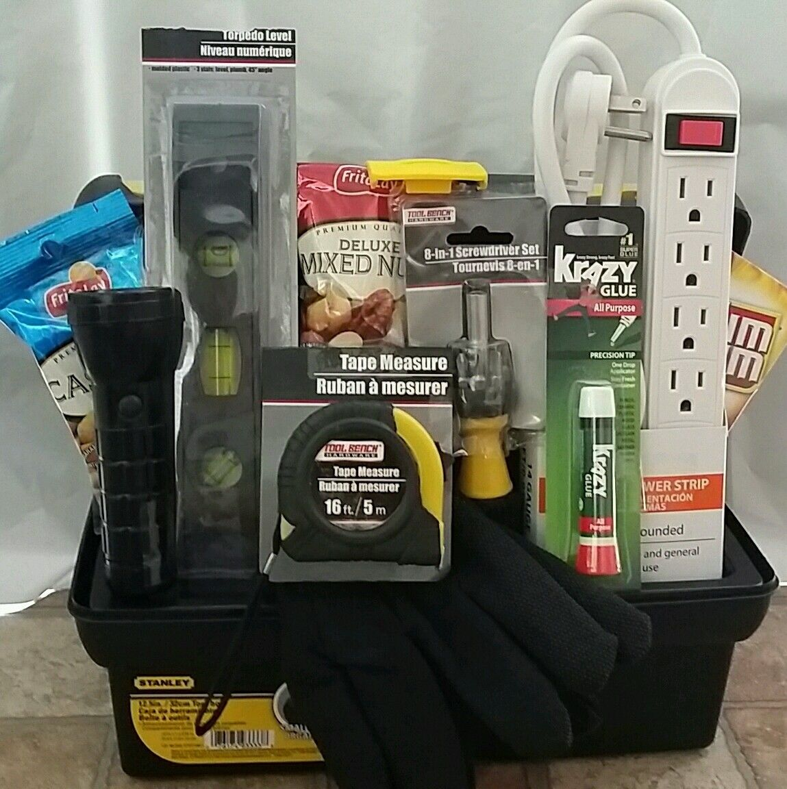 Handy man honey do list gift basket Gifts for home builders